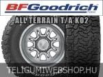 BF GOODRICH ALL TERRAIN T/A KO2 255/65R17 - nyárigumi - adatlap