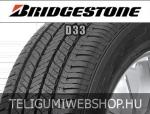 Bridgestone - D33 nyárigumik
