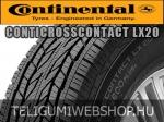 Continental - ContiCrossContact LX20 nyárigumik