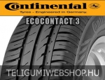 CONTINENTAL ContiEcoContact 3 175/65R14 - nyárigumi - adatlap