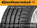 Continental - ContiSportContact 3 nyárigumik