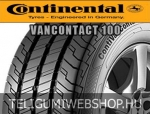 CONTINENTAL ContiVanContact 100 215/65R16 - nyárigumi - adatlap