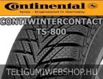 CONTINENTAL ContiWinterContact TS 800 165/60R14 - téligumi - adatlap