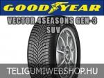 Goodyear - VECTOR 4SEASONS GEN-3 SUV négyévszakos gumik