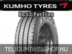 KUMHO KC53 PorTran 205/70R15 - nyárigumi - adatlap