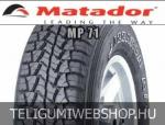 Matador - MP71 Izzarda 4x4 négyévszakos gumik