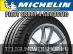 Michelin - PILOT SPORT 4 ACOUSTIC nyárigumik