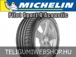Michelin - PILOT SPORT 4 S ACOUSTIC nyárigumik