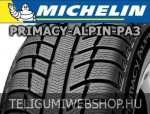 Michelin - Primacy Alpin PA3 téligumik