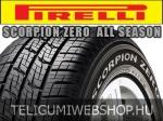 Pirelli - Scorpion Zero All Season négyévszakos gumik