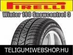 PIRELLI Winter 190 Snowcontrol 3 175/65R14 - téligumi - adatlap