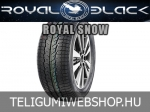 Royal black - Royal Snow téligumik