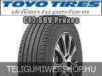 TOYO CF2 SUV Proxes 215/60R17 - nyárigumi - adatlap