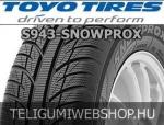 TOYO S943 Snowprox 155/60R15 - téligumi - adatlap