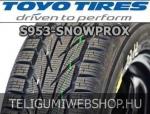 TOYO S953 Snowprox 215/50R18 - téligumi - adatlap