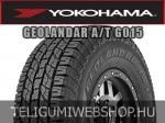YOKOHAMA GEOLANDAR A/T G015 255/55R18 - nyárigumi - adatlap